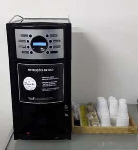 Máquina de Café em grãos profissional atende a todo tipo de finalidade